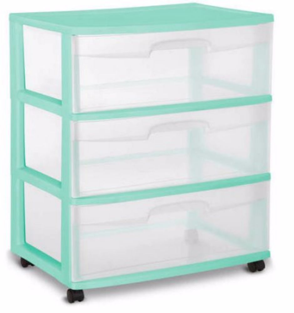Storage Containers With Drawers Sterlite Organizer Plastic 3