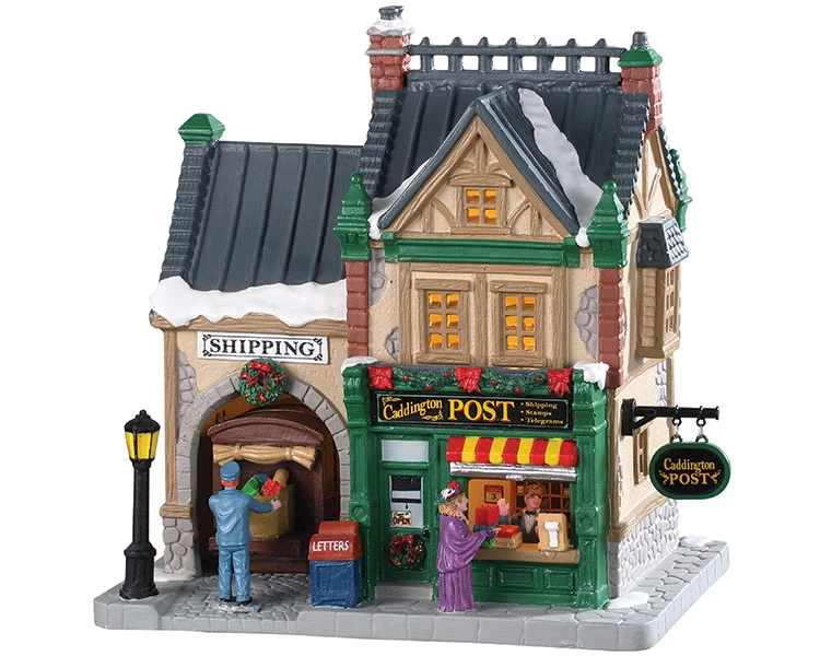NEW 2017 Lemax Village Building Lighted A Cut Above Jeweler Christmas Decor Gift