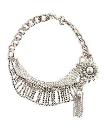 RODRIGO OTAZU - Multi-Chain Necklace - Last Call By Neiman Marcus