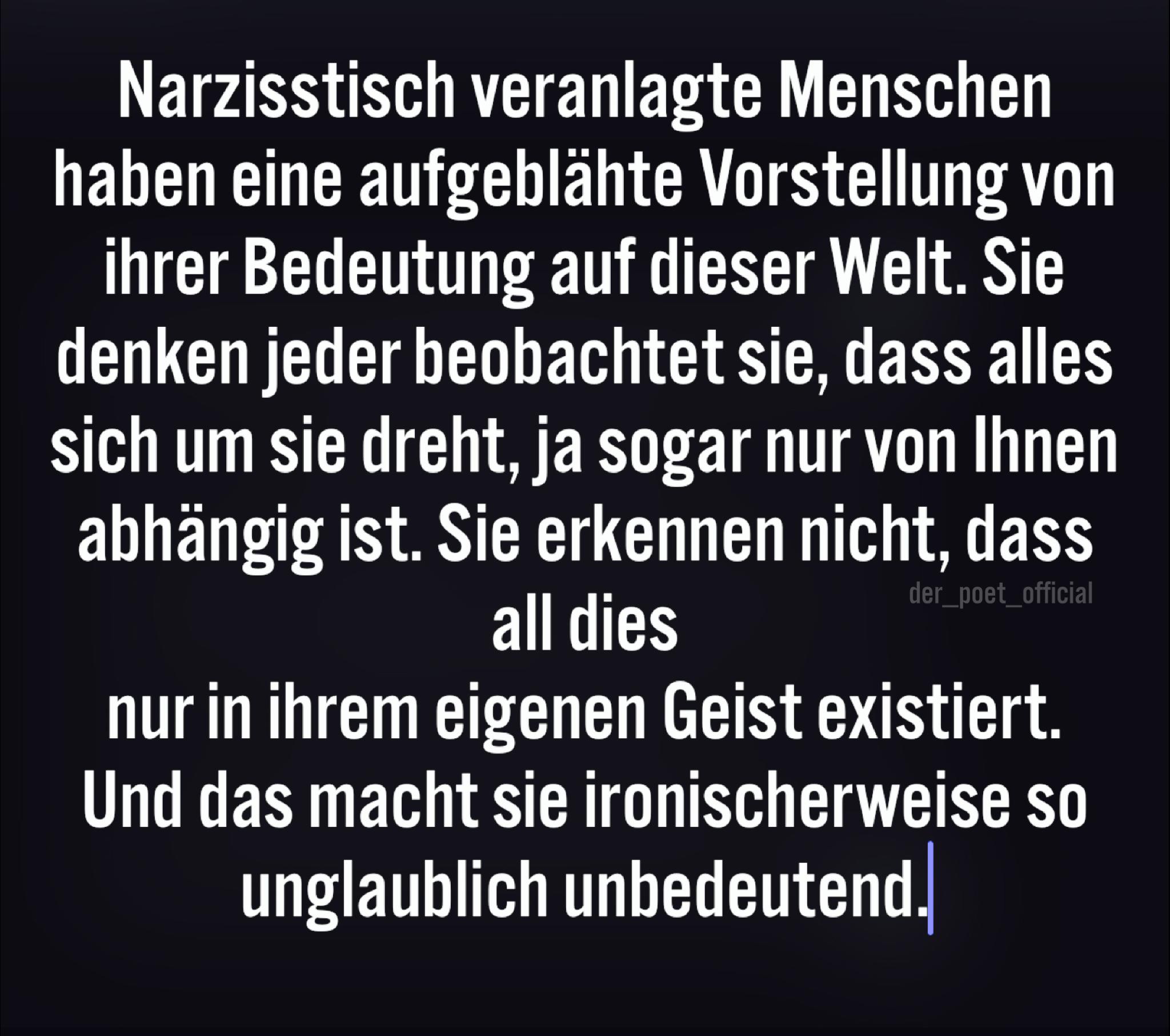 Narzissten sprüche Karma Sprüche: