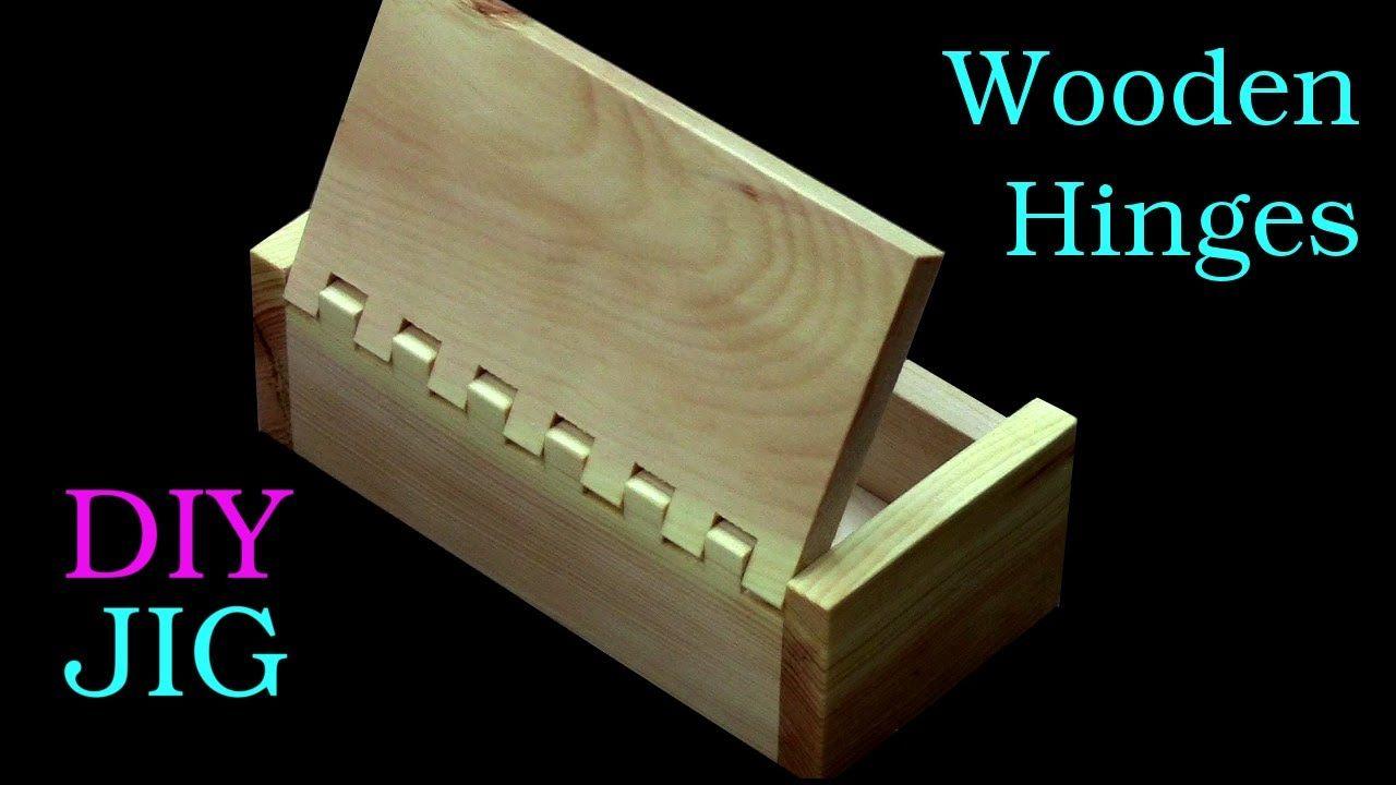 Schachtel mit Holzscharnier ganz einfach mit der Kreissäge