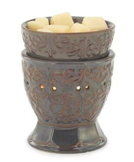 Ceramic Illumination Tart Warmer Plum Goblet Electric Tart Warmer Tart Burner Candle Warmer