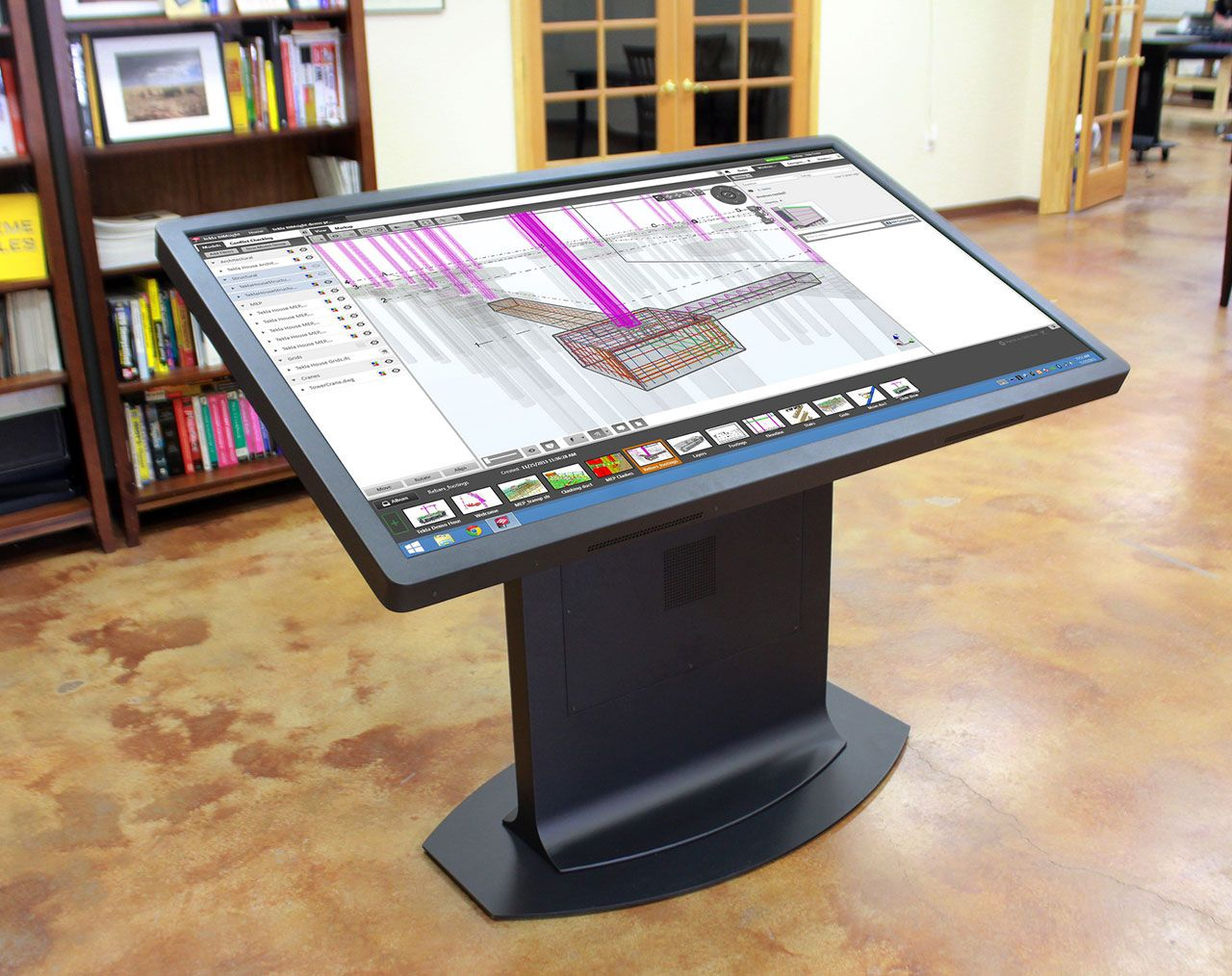 Multitouch Drafting Table: A New Take On The Mechanical Desk | Ideum