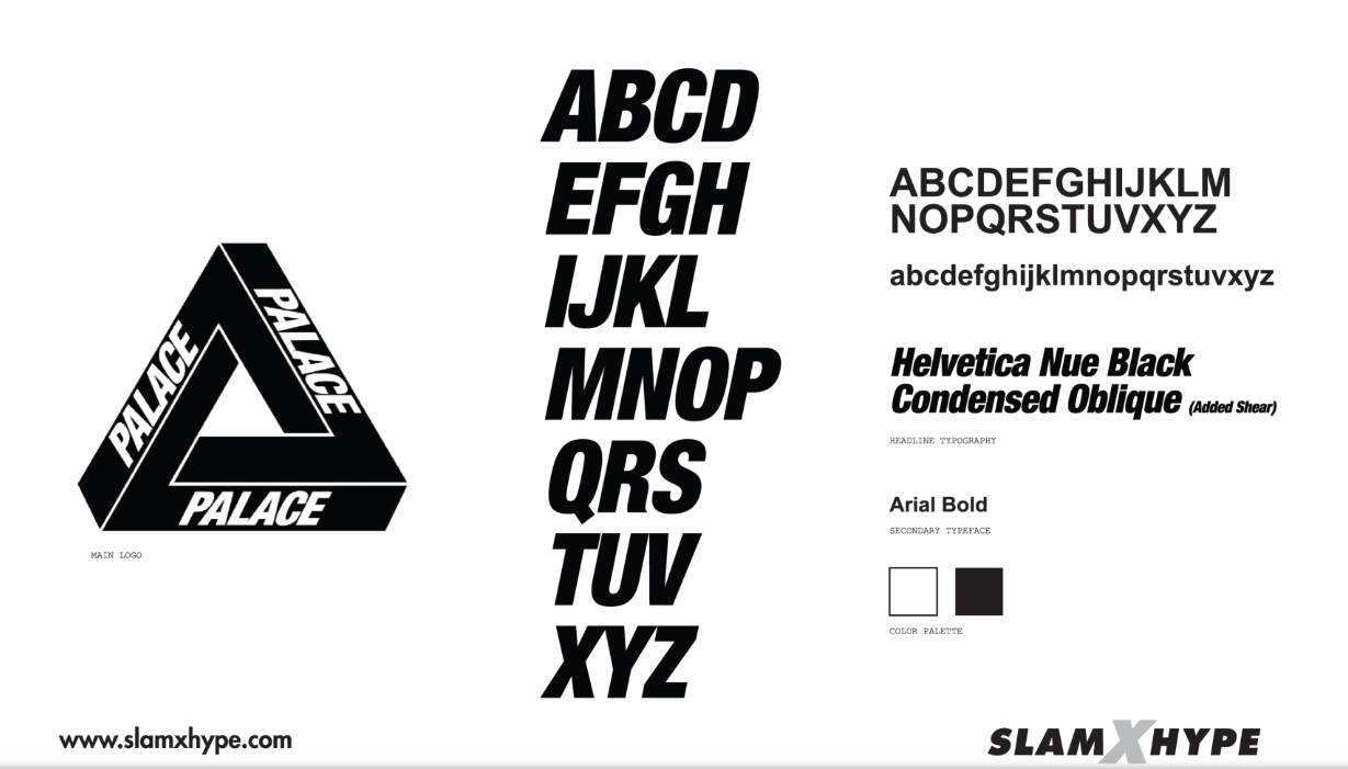 What Font Does Palace Skateboards Use Hypebeast Forums Typography Logo Brand Fonts Graphic Design Fonts