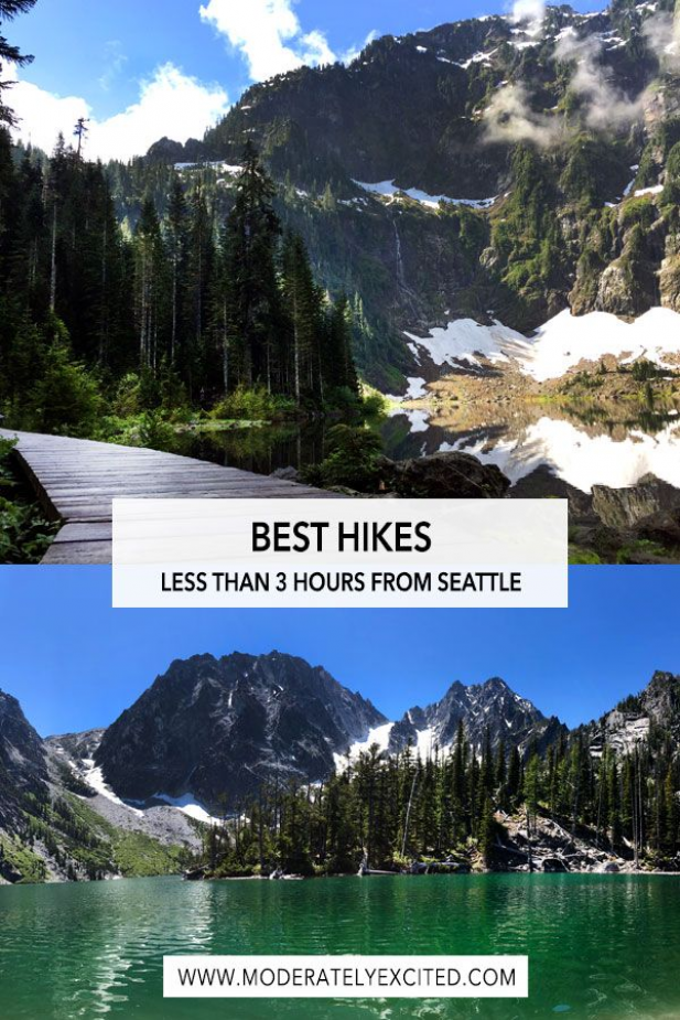 Looking for unique things to do in Seattle? Check out this guide that includes some of the best hikes you can find less than 3 hours from downtown Seattle!   #hiking #seattle #washington #pnw #roadtrip #nature #usa #itinerary #travelguide #travelphotography #adventuretravel #adventure #travel #hiking