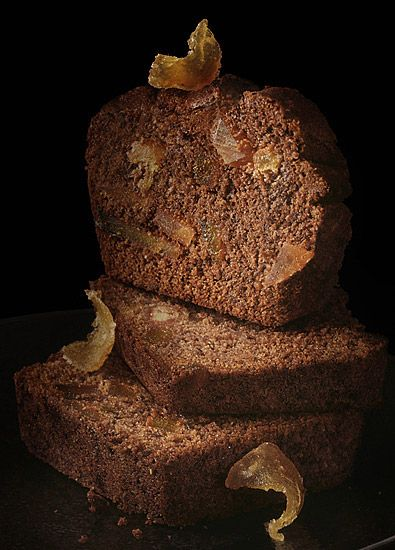 Chocolate Loaf Cake from MADAME FIGARO / Le chocolat (photo by Peter Lippmann)
