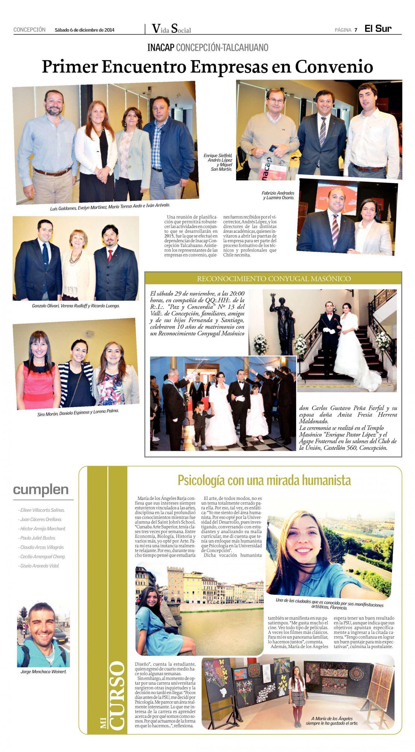 Sociales Diario El Sur