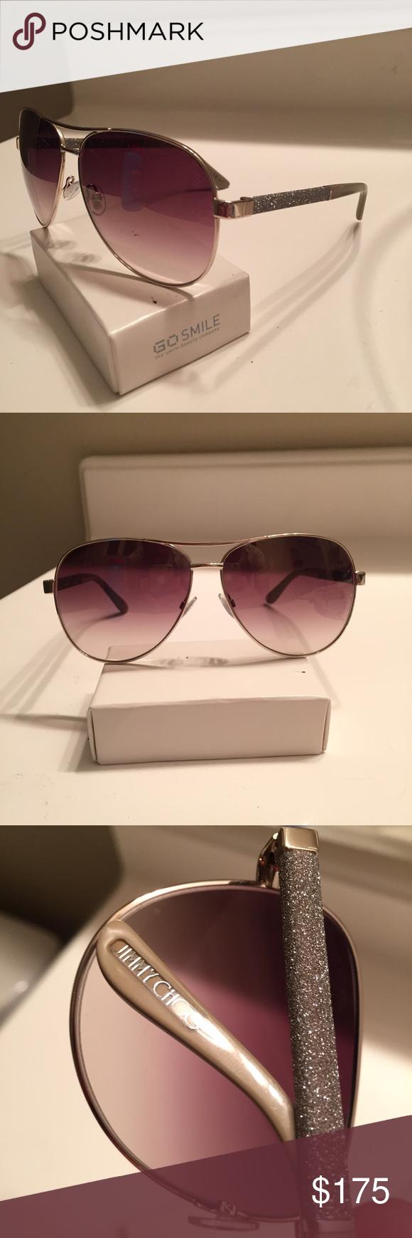 32bdca02cd6 Jimmy Choo Lexie women s aviator sunglasses Store display Jimmy Choo  aviator sunglasses in like new condition. No jimmy Choo case but a hard  case will be ...