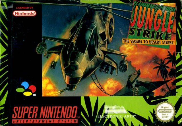 Jungle Strike Snes By Ea I M Still Waiting For The Day That Ea
