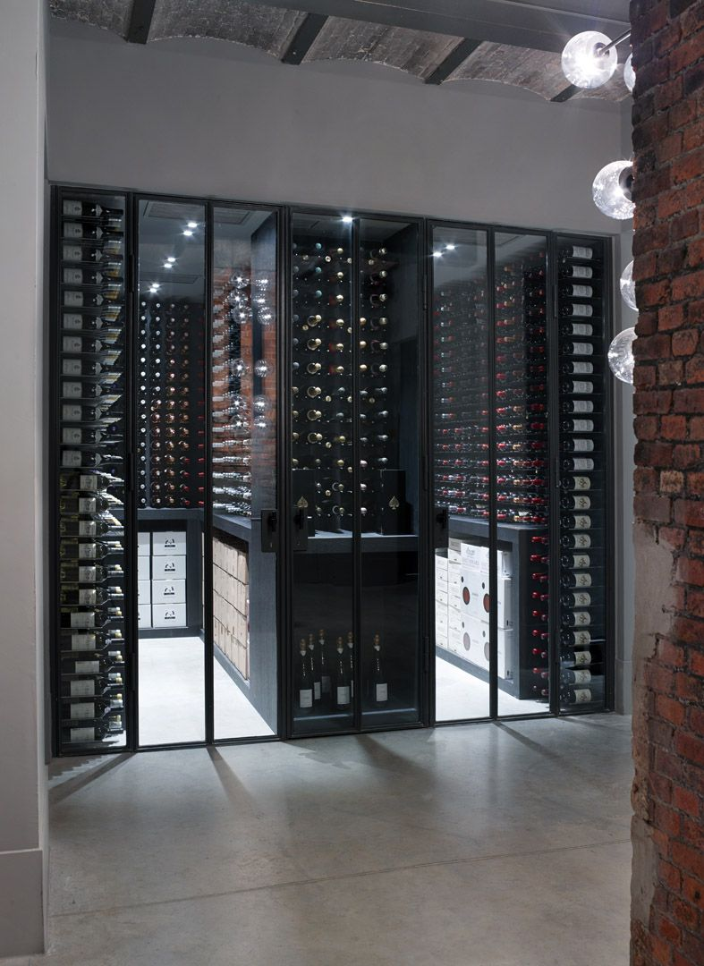 Wine cellar The Jane Antwerp. For other ideas for cellaring go to ...