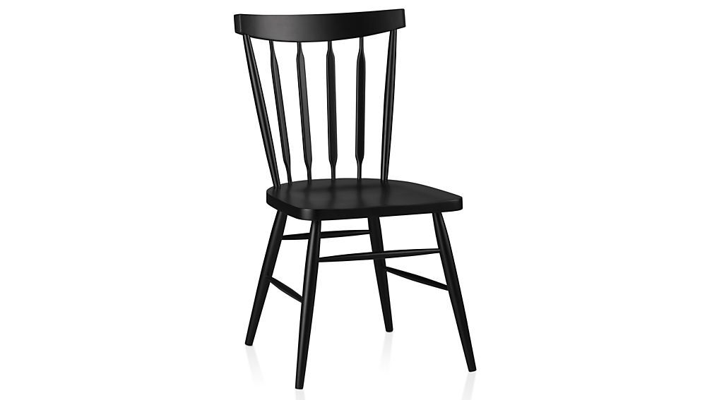 Willa Black Wood Dining Chair Black Dining Chairs Dining Chairs Black Side Chair