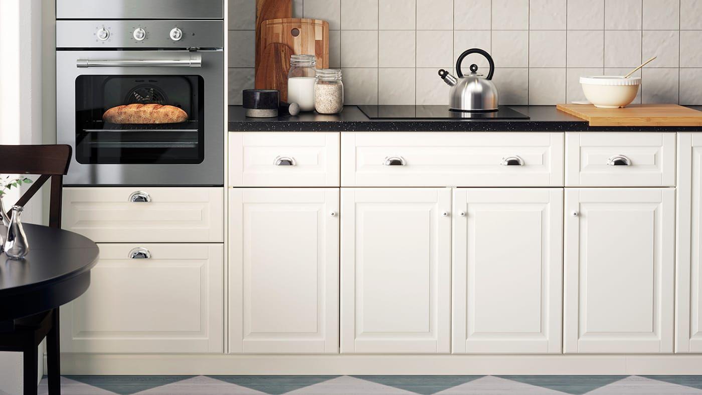 Seria Bodbyn Kremowy Inve Kitchen Cabinets Bodbyn Kitchen