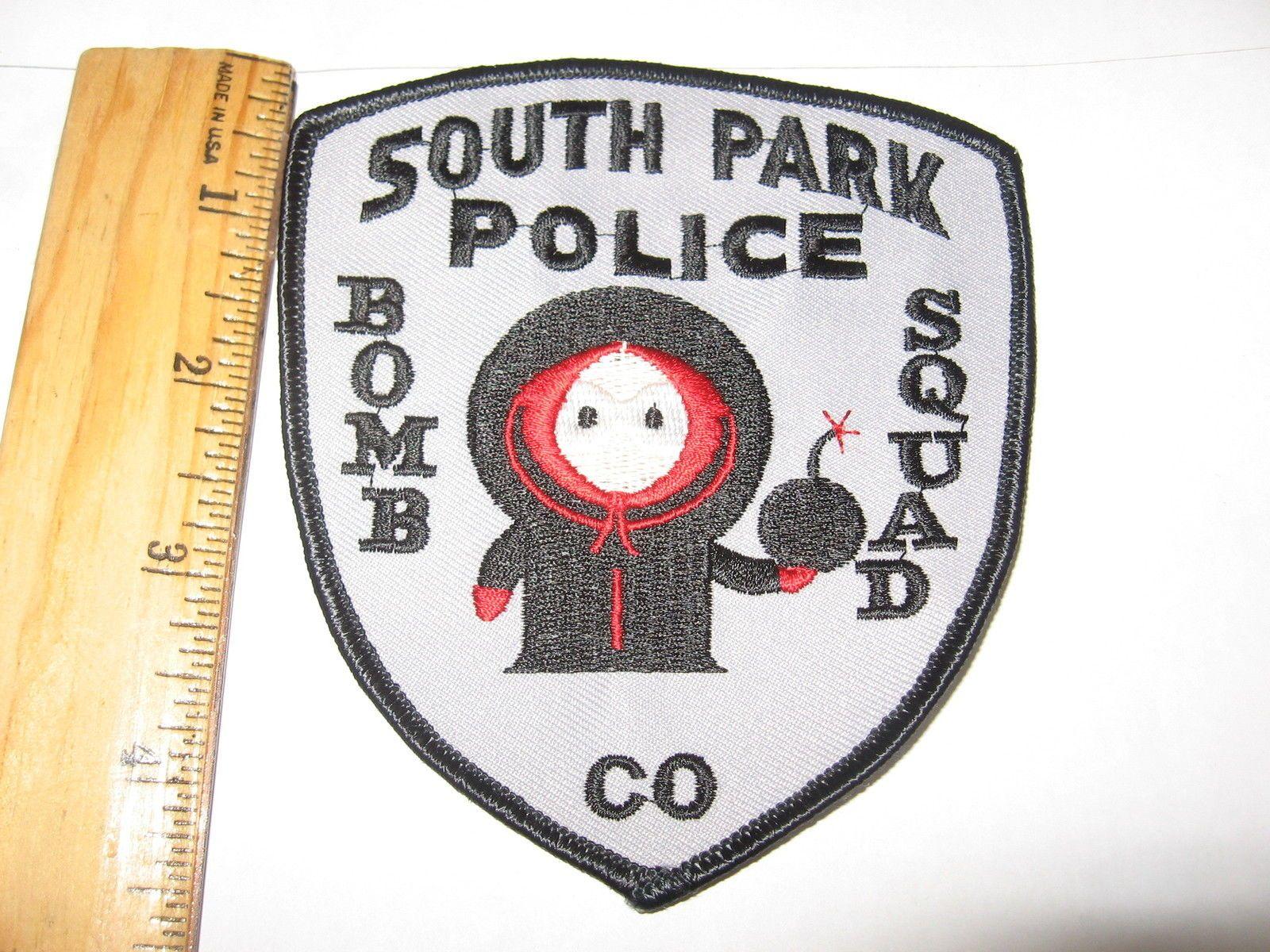 SOUTH PARK POLICE DEPT SPPD KENNY TV SHOW BOMB SQUAD EOD