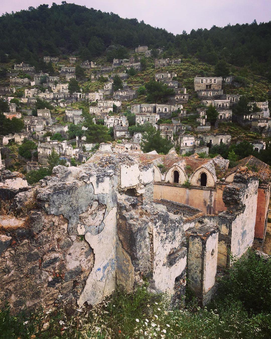 Pin On Kayakoy Ghost Town Near Fethiye Turkey