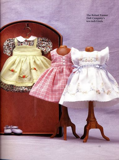 Fashions for small dolls 76