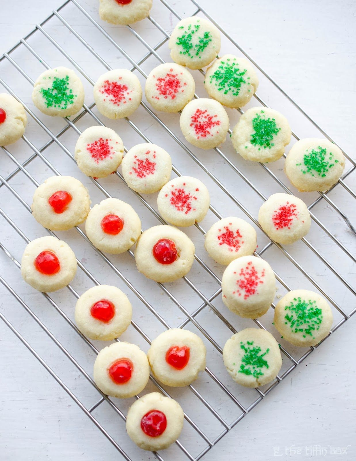 The Tiffin Box Lemon Scented Canada Cornstarch Shortbread Cookies