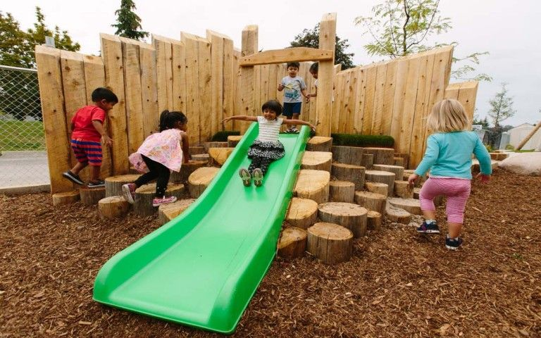 Playground Natural Toronto Ontario Nature - Tall Pines ...