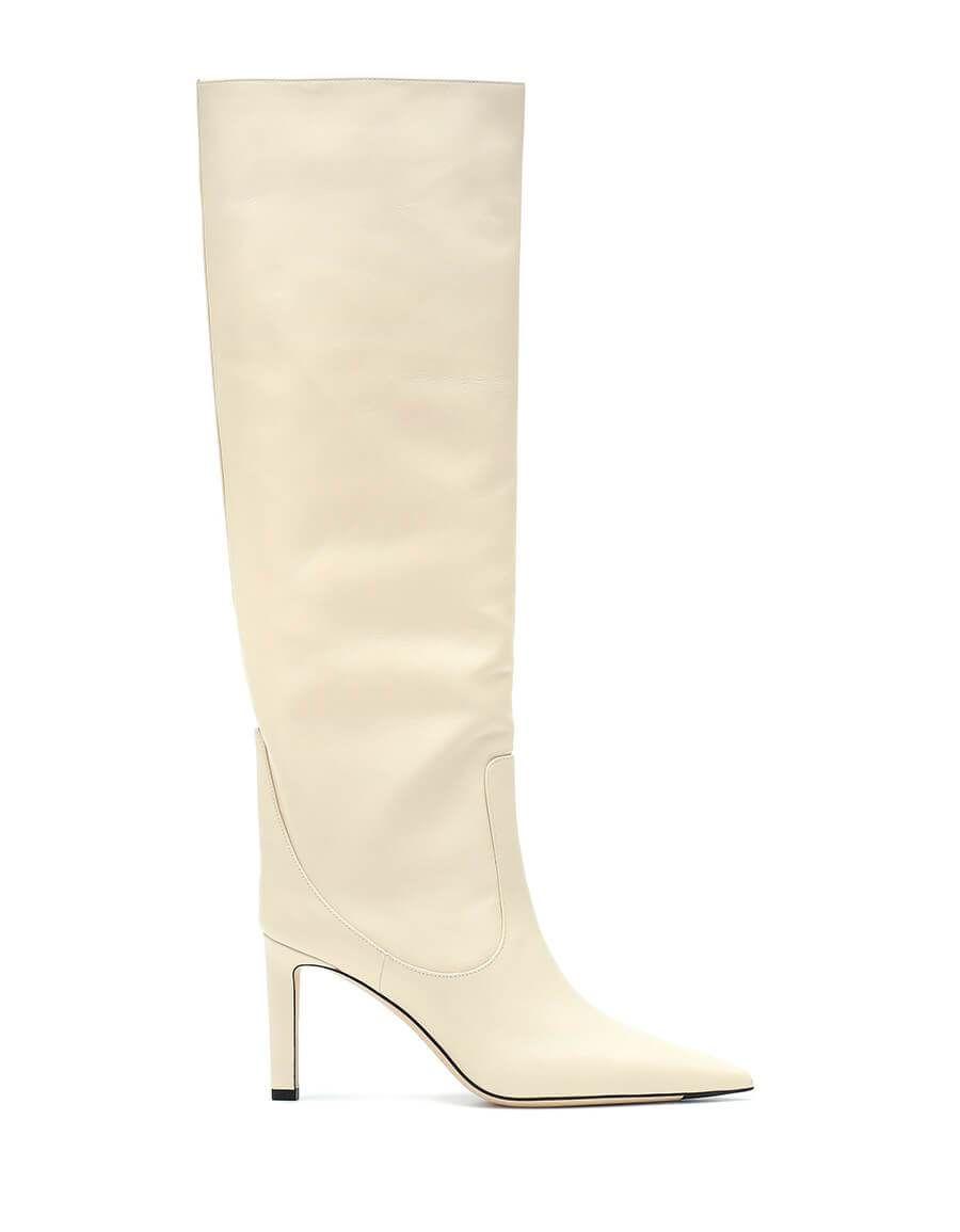 f6881a00f7c JIMMY CHOO Mavis 85 leather boots in 2019