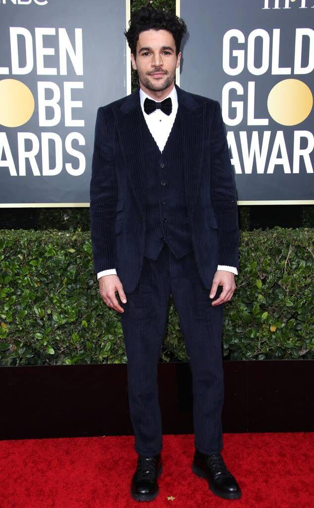 Christopher Abbott from Golden Globes 2020 Red Carpet Fashion