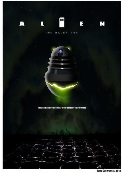 Daleks invade movie classics