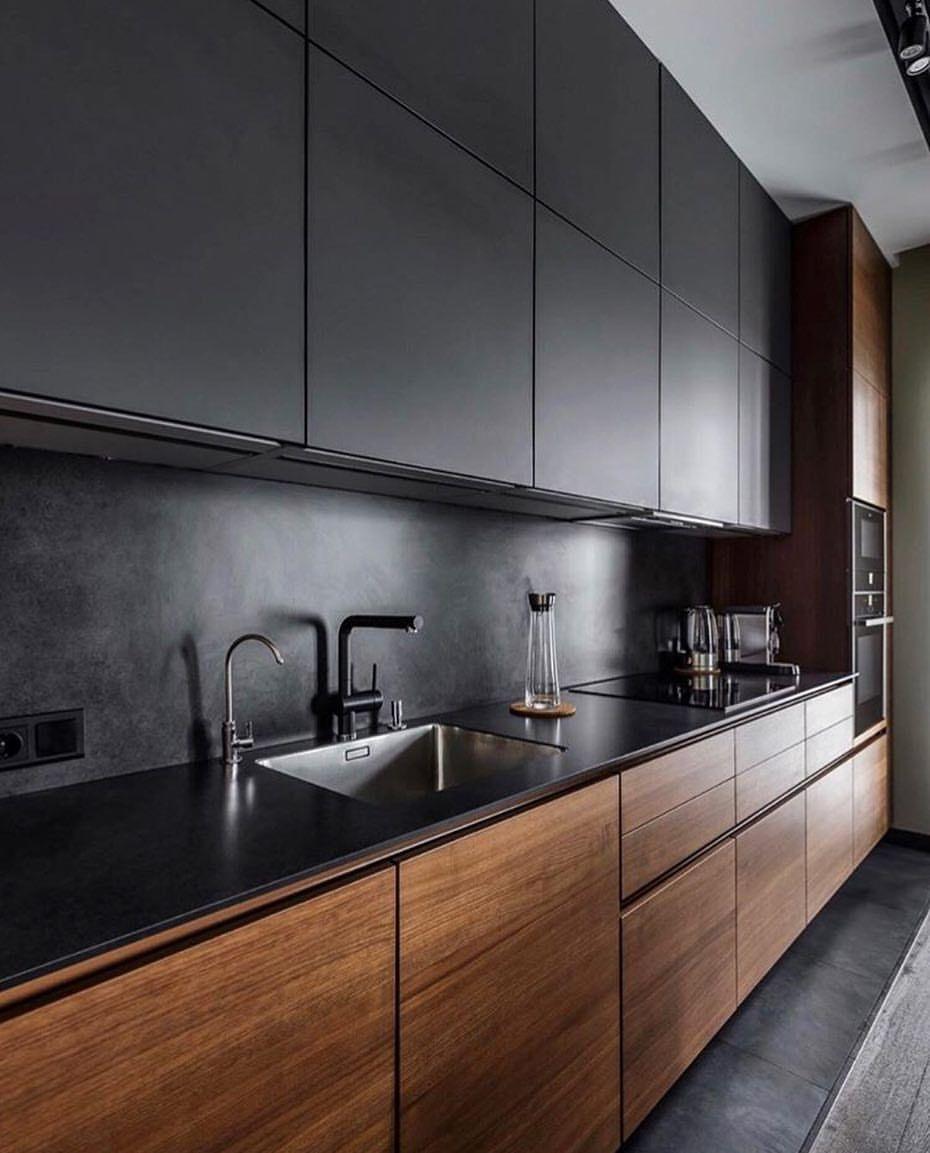 Modern Industrial Style Combines Aesthetics With: Diseño Cocinas Modernas
