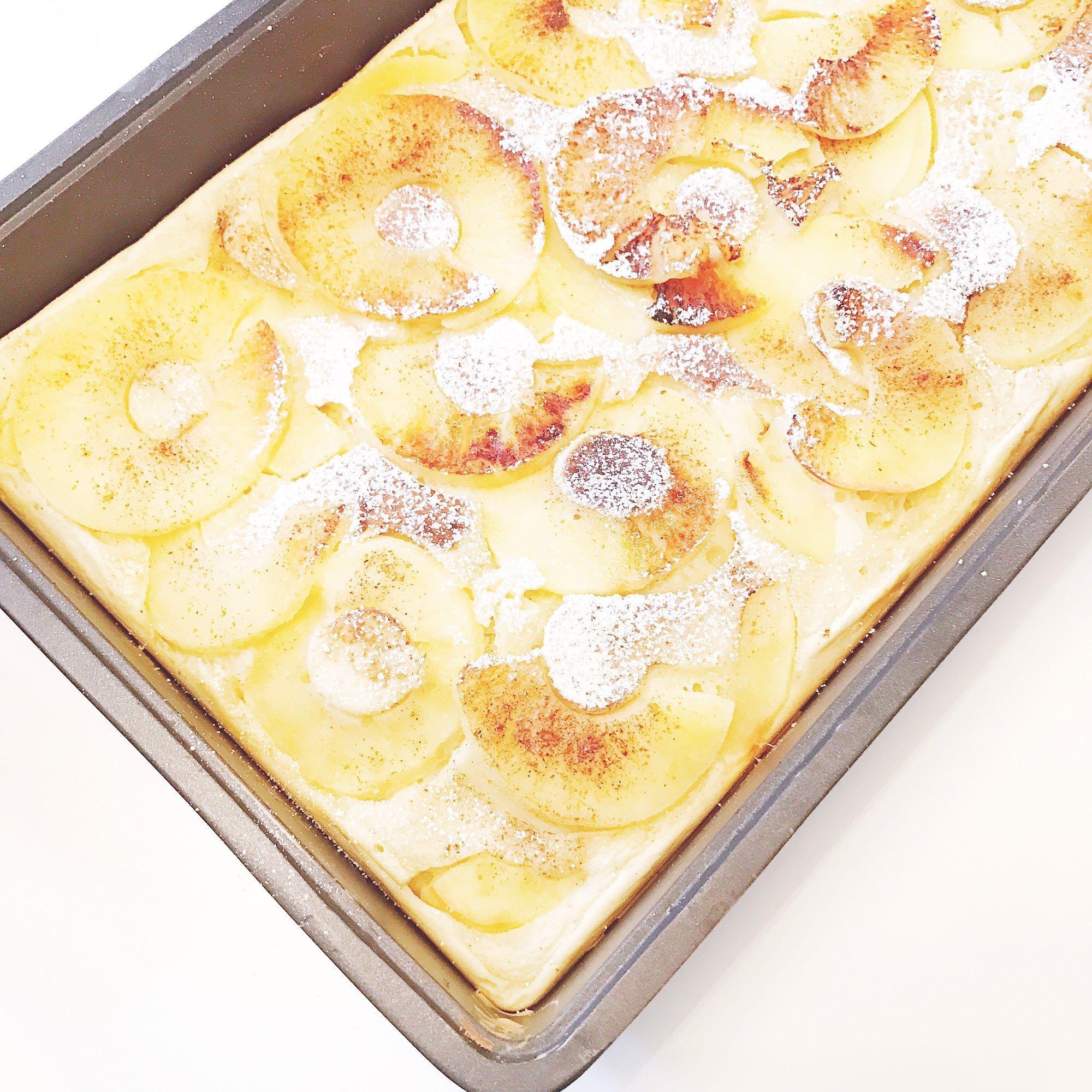 apfelpfannkuchen aus dem ofen oder dem mulex sind ein