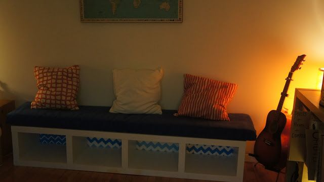 IKEA Hackers: IKEA Lack bookcase to bench