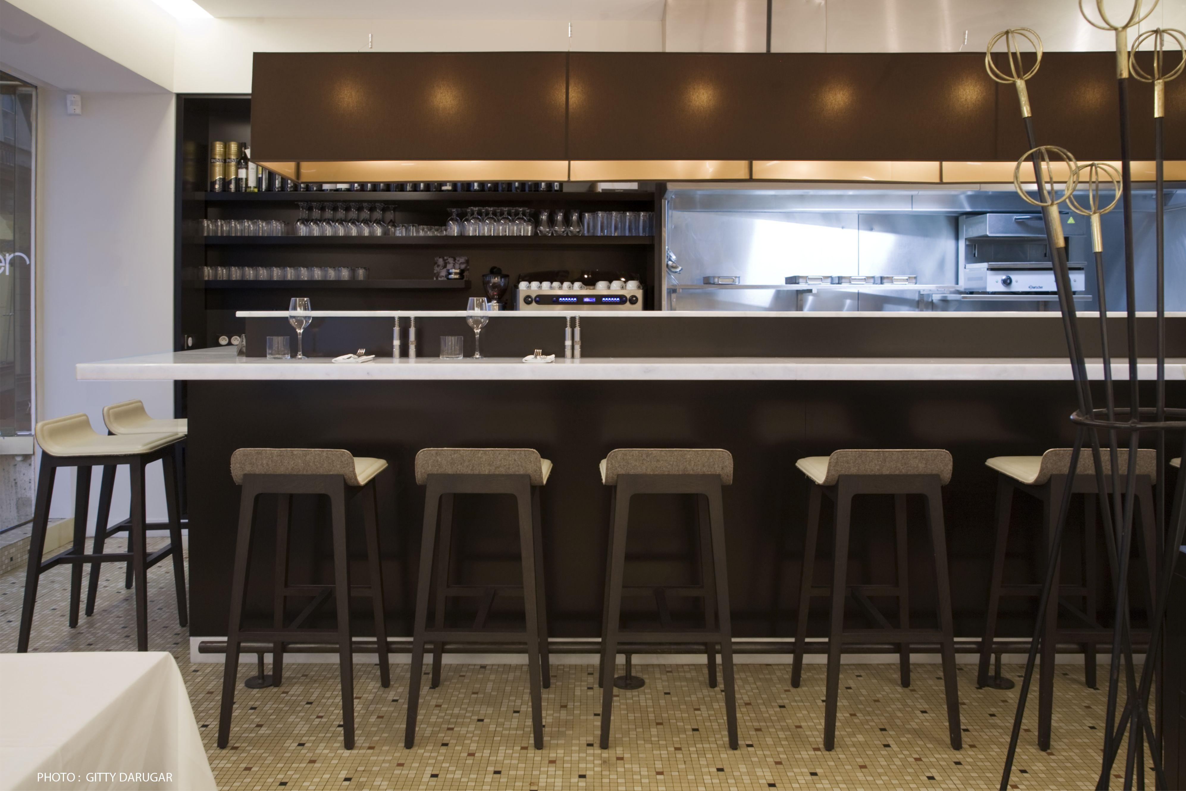 03 bar architecture interieur am nagement restaurant espagnol iperiber paris3 atela architectes - Bar interieur maison ...