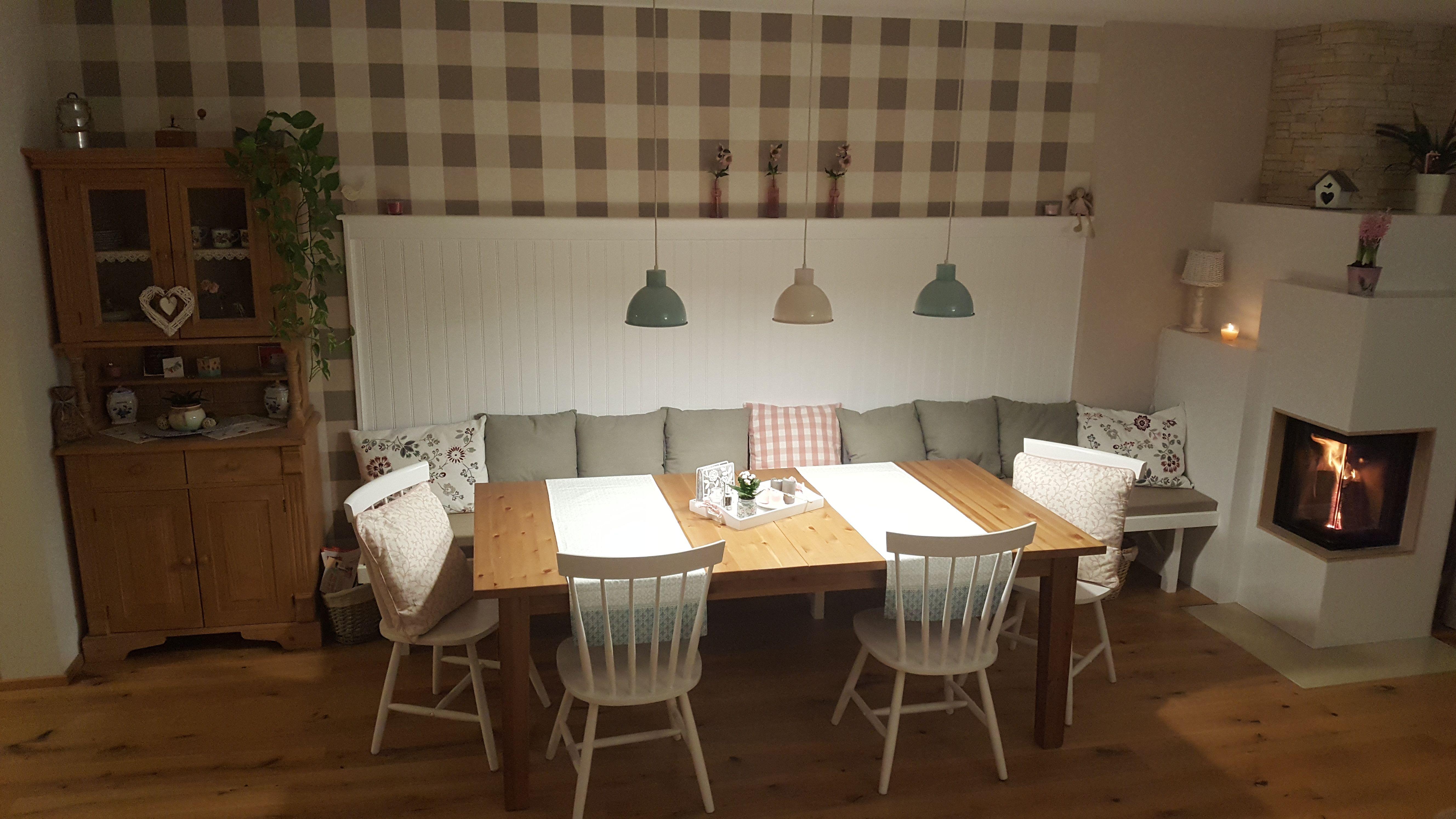 wnde esszimmer, beadboard.de - stilvolle wände, essecke, esstisch, essen, food, Design ideen