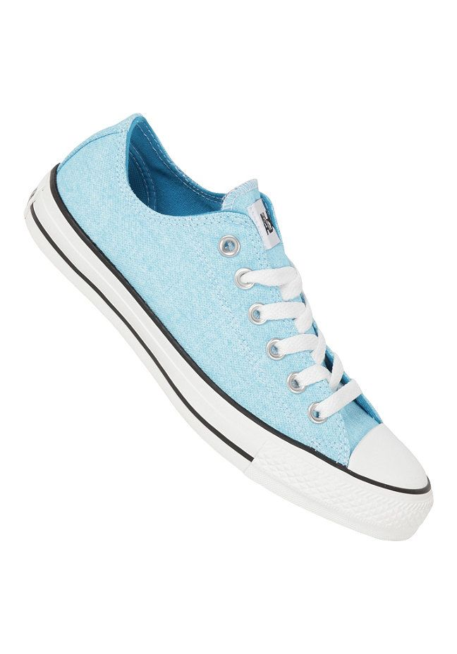 cf4642e927a3e2 Converse Chuck Taylor All Star B.Washed Ox - Sneakers - Blau ...