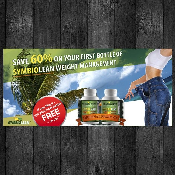 Snazzy Web Banner Needed For Weight Loss Supplement By Helvetican