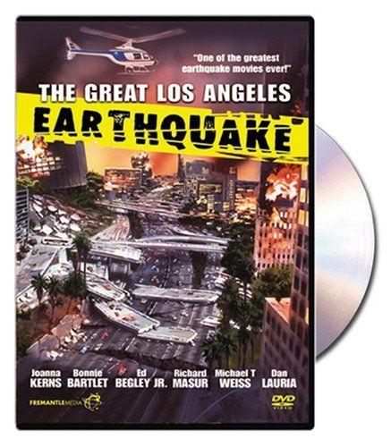 The Great Los Angeles Earthquake Dvd Joanna Kerns Http Www Amazon Com Dp B000f4rht8 Ref Cm Sw R Pi Dp Qcjwqb0a3 With Images Los Angeles Earthquake Earthquake Greatful