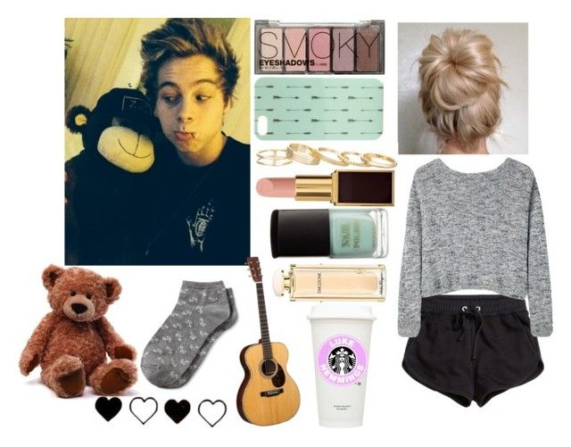 """""""Luke Hemmings"""" by style-and-beauty ❤ liked on Polyvore"""