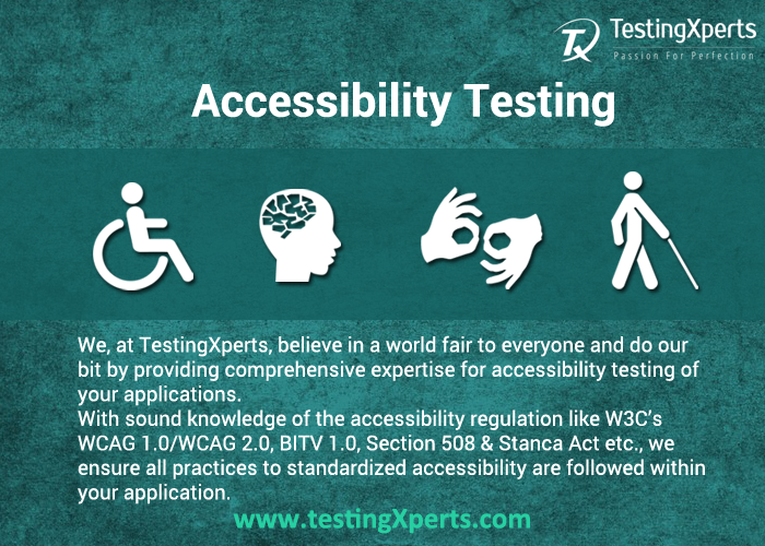 Web Accessibility Testing Services Company Software Testing