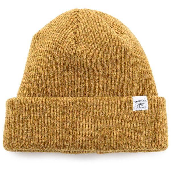 a93d493f41d Norse Projects Norse Beanie Hat (€45) ❤ liked on Polyvore featuring men s  fashion