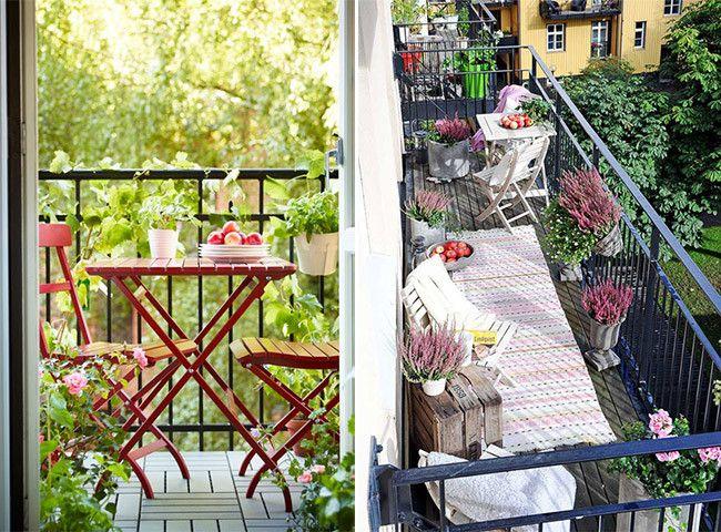 Ideas decorativas para balcones ideas para exteriores for Ideas decorativas para patios