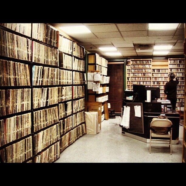 WFMU archives