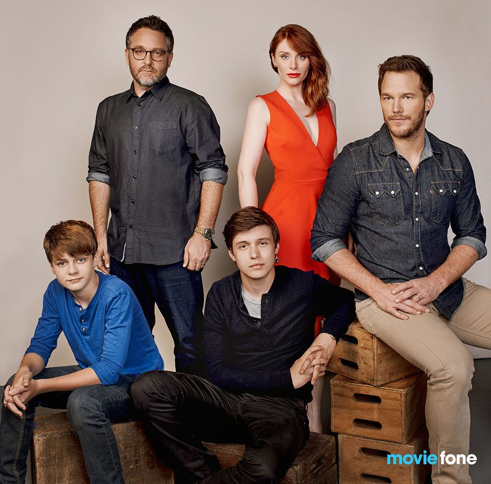 The amazing Jurassic World Cast and brilliant director