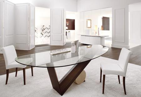 Awesome Mesas De Cristal De Diseño Para Comedor Photos - Casas ...