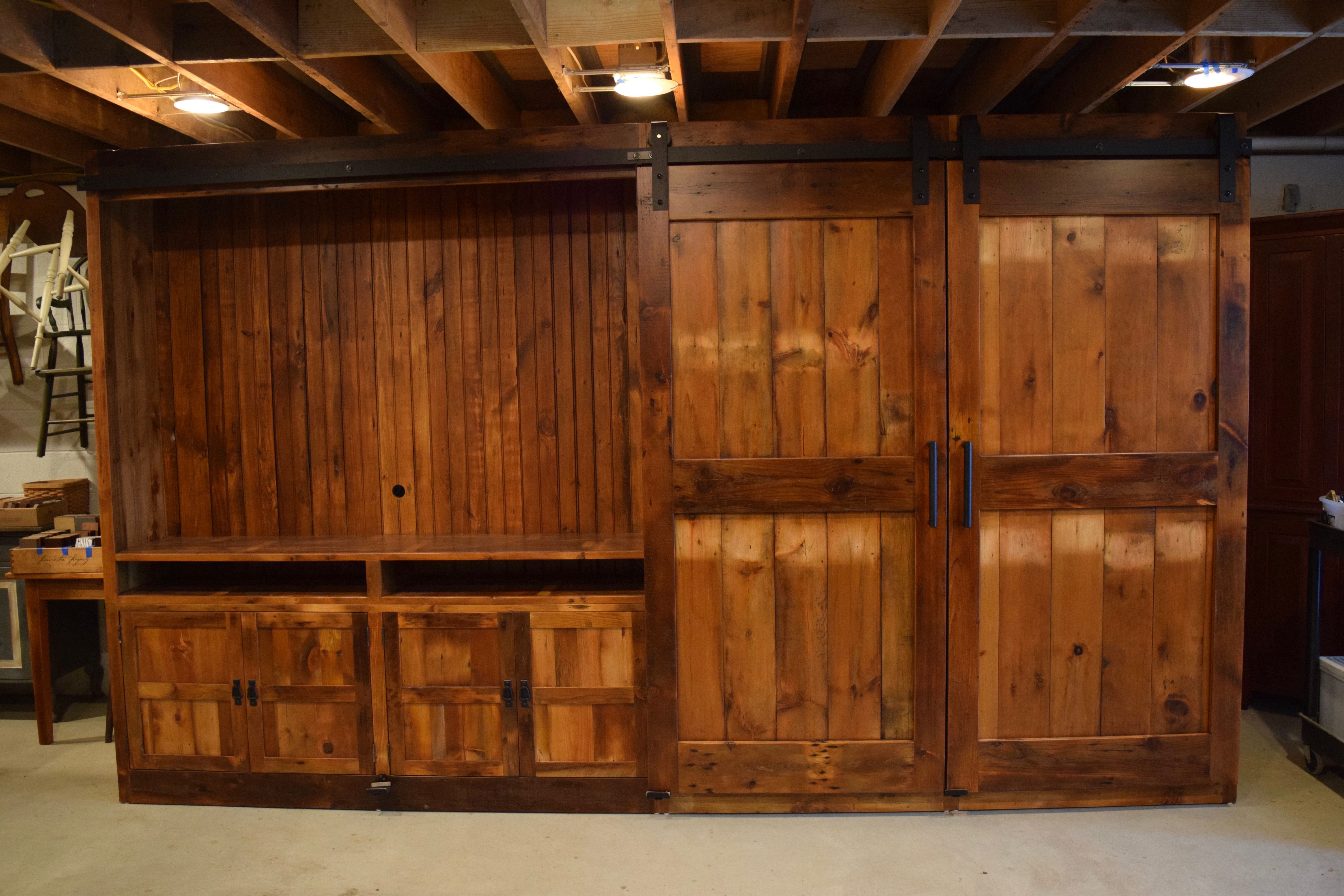 by cabinet door furniture com barn the barnwood pin furniturefromthebarn entertainment from doors