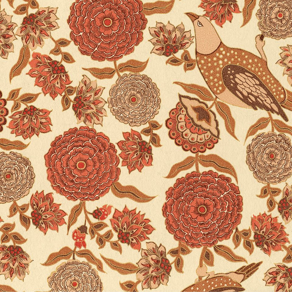 SabyaSachi by Nilaya from Asian Paints | wall paper asian paints ...