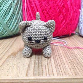 La piccola bottega della Creatività: Gattino amigurumi - Tutorial uncinetto