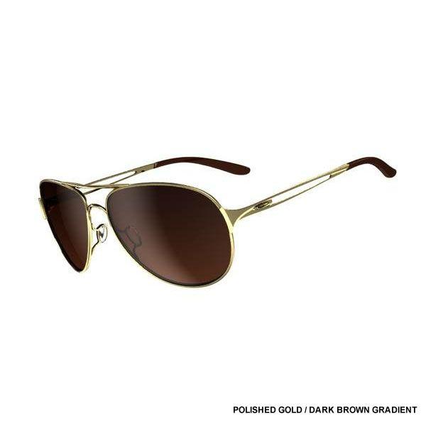 Oakley Given Polished Gold Dark Brown Gradient Gold OWu3VOUVbP