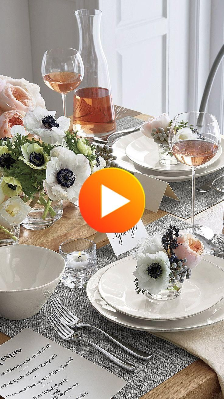 Marin White 16-Piece Dinnerware Set + Reviews | Crate and #bedroomdecor #bathroomdecor