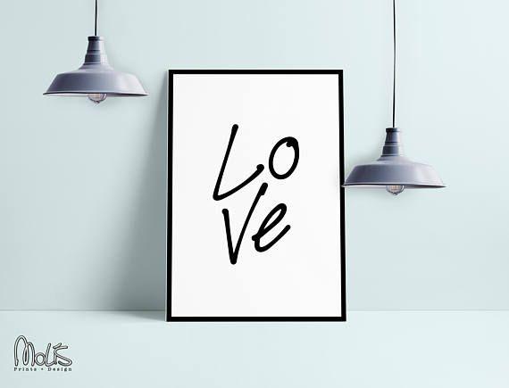 love quote  Wall Art Print Instant Download   #lovedecor #decor #design #hope #homedecor #youneedit #buy #etsyseller #interiordesign #etsylove #inlove #bedroomdecor #livingroom #livingroomdecor #love #ETSY