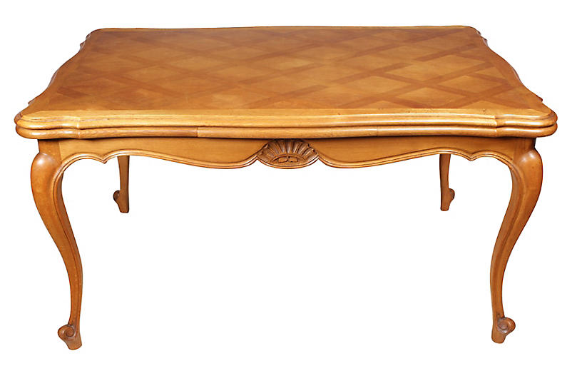 One Kings Lane Vintage 1950s Louis-XV-Style Dining Table