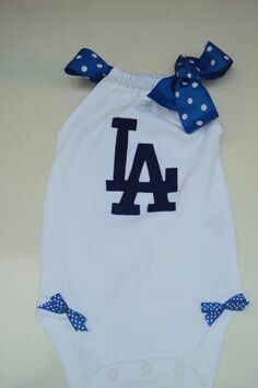 Babygirl Dodger Outfit Clothes Pinterest Dodgers Newborn