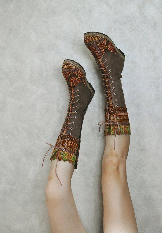 3a5aea6bd70 Womens Boho Boots