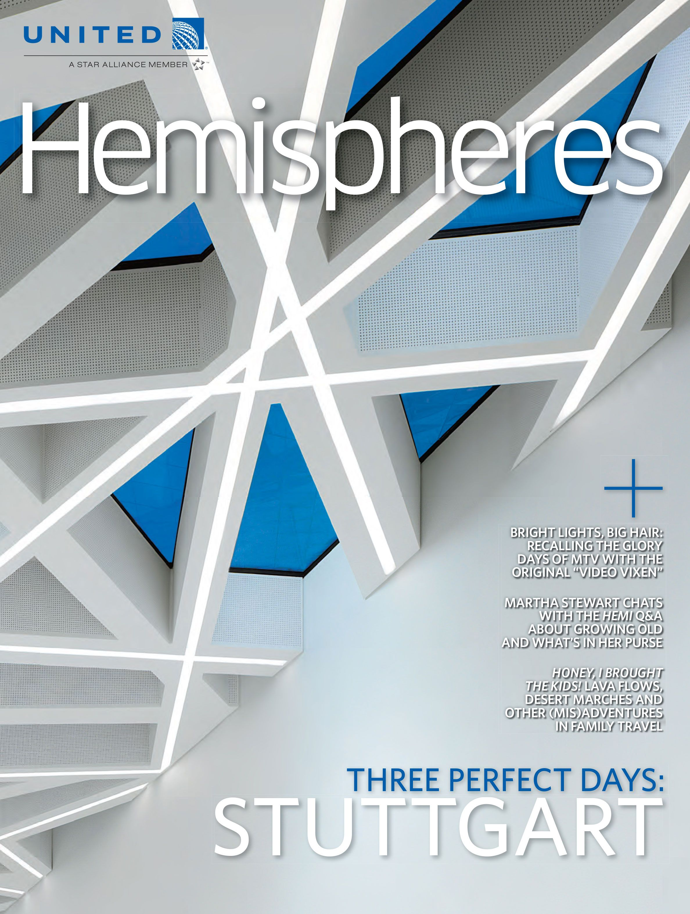 United Airlines : Hemispheres