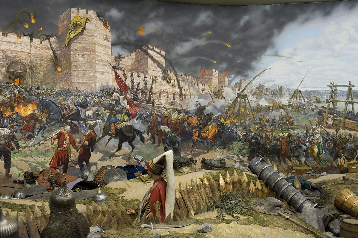 The Siege Of Constantinople 1453 Siege Of Constantinople